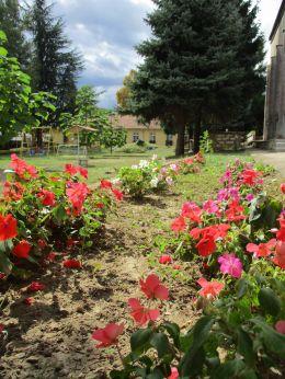 Двора на ДГ Буратино - 05 - ДГ 7 Буратино - Детска градина в град Казанлък